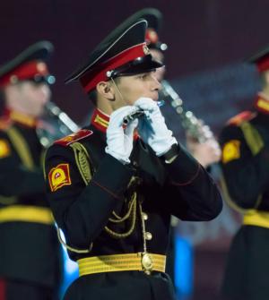 Fanfare de l'école militaire et musicale Souvorov de Moscou