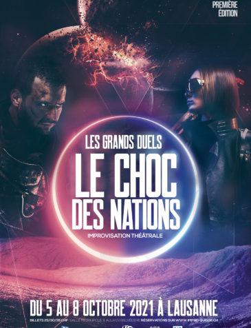 Le Choc des Nations – Improvisation théâtrale